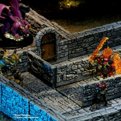WarLock Tiles Dungeon Tiles