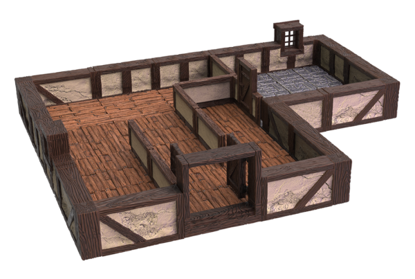 WarLock Tiles Town And Village