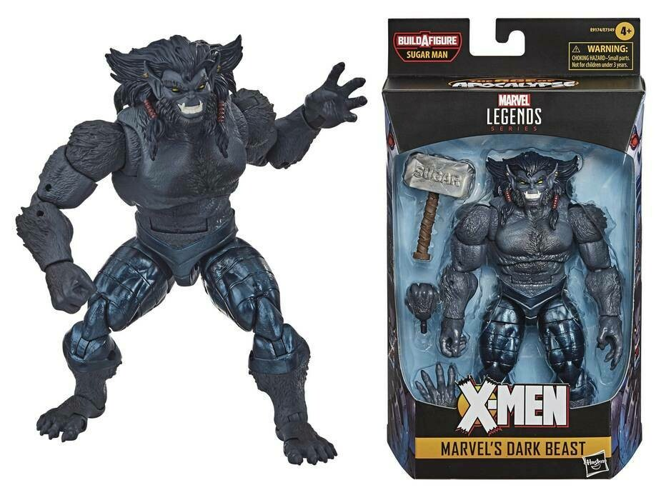Marvel Legend's X-Men Dark Beast (Sugar Man BAF)