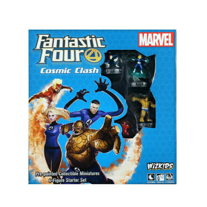 Marvel Heroclix: Fantastic Four Cosmic Clash Starter Set (6-Figure Starter Set)