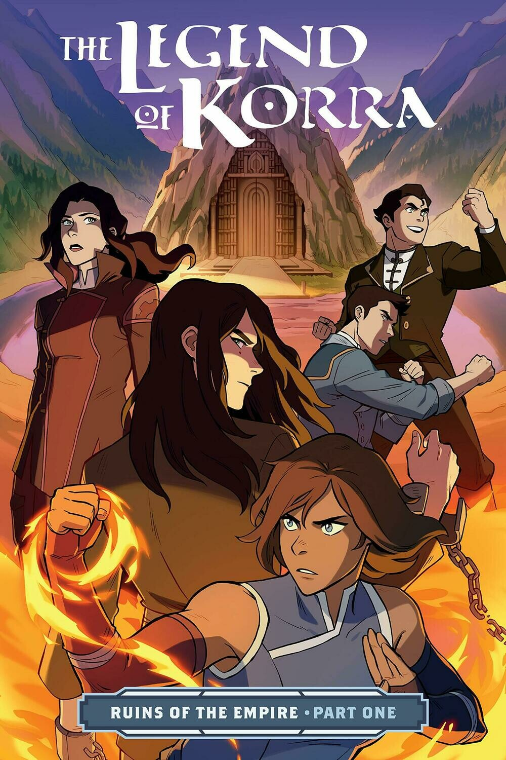 Avatar: The Legend Of Korra - Ruins Of The Empire Part One
