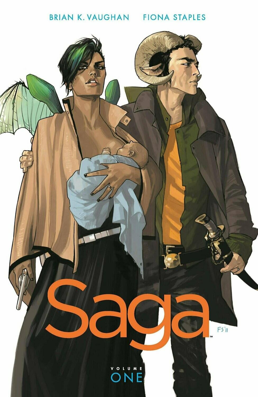 Saga TPB #1