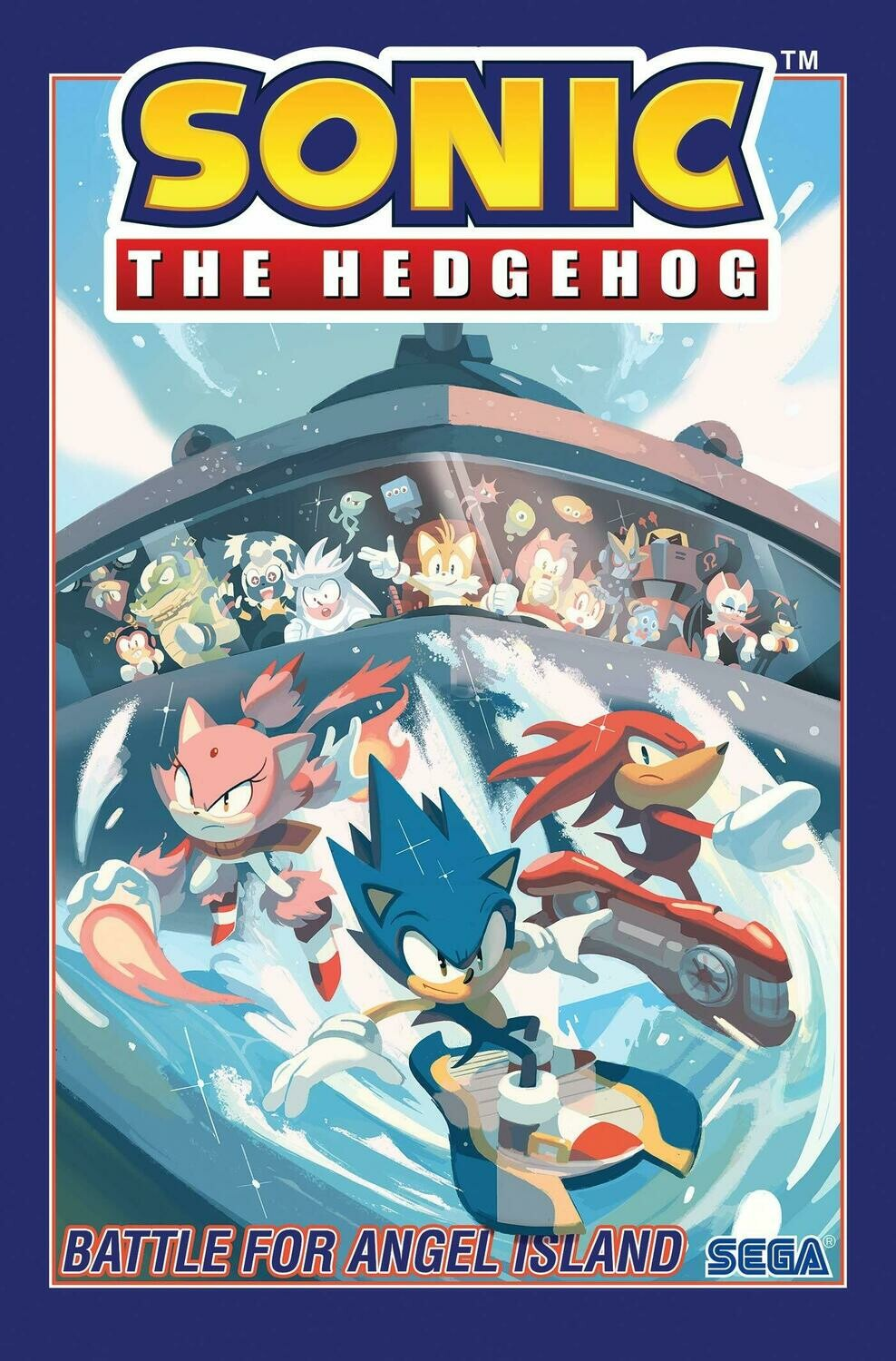 Sonic The Hedgehog: Battle For Angel Island