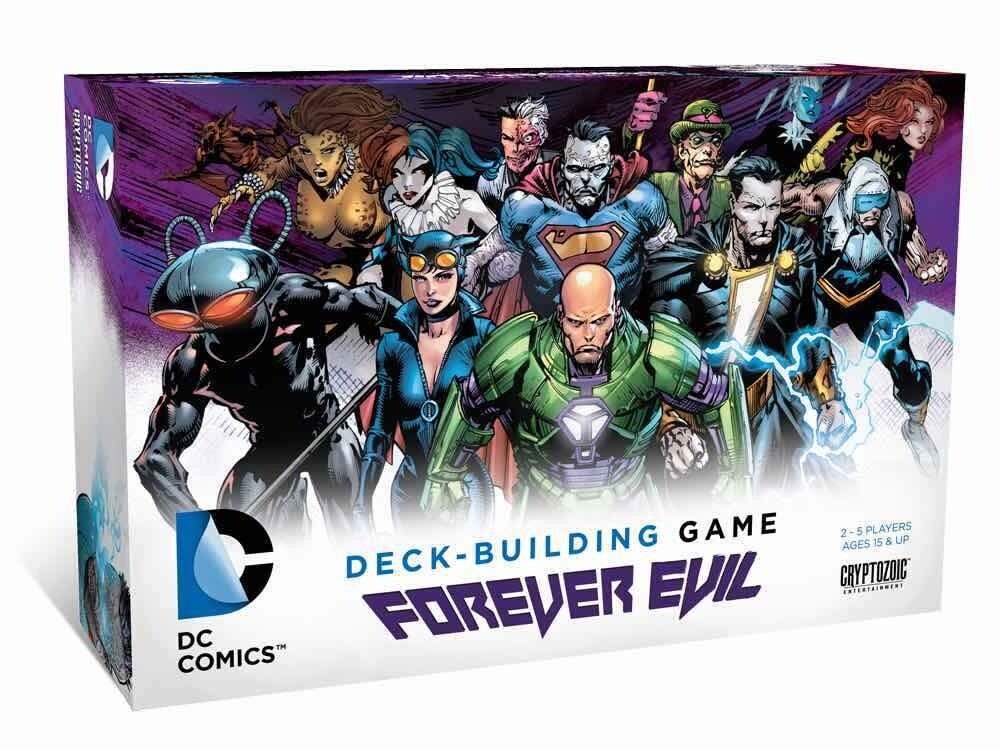 Forever Evil Deck-building Card Game