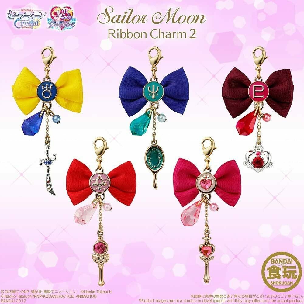 Sailor Moon Ribbon Charms 2