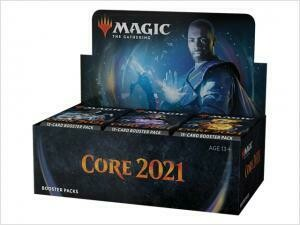 Core Set 2021 Draft Booster Display