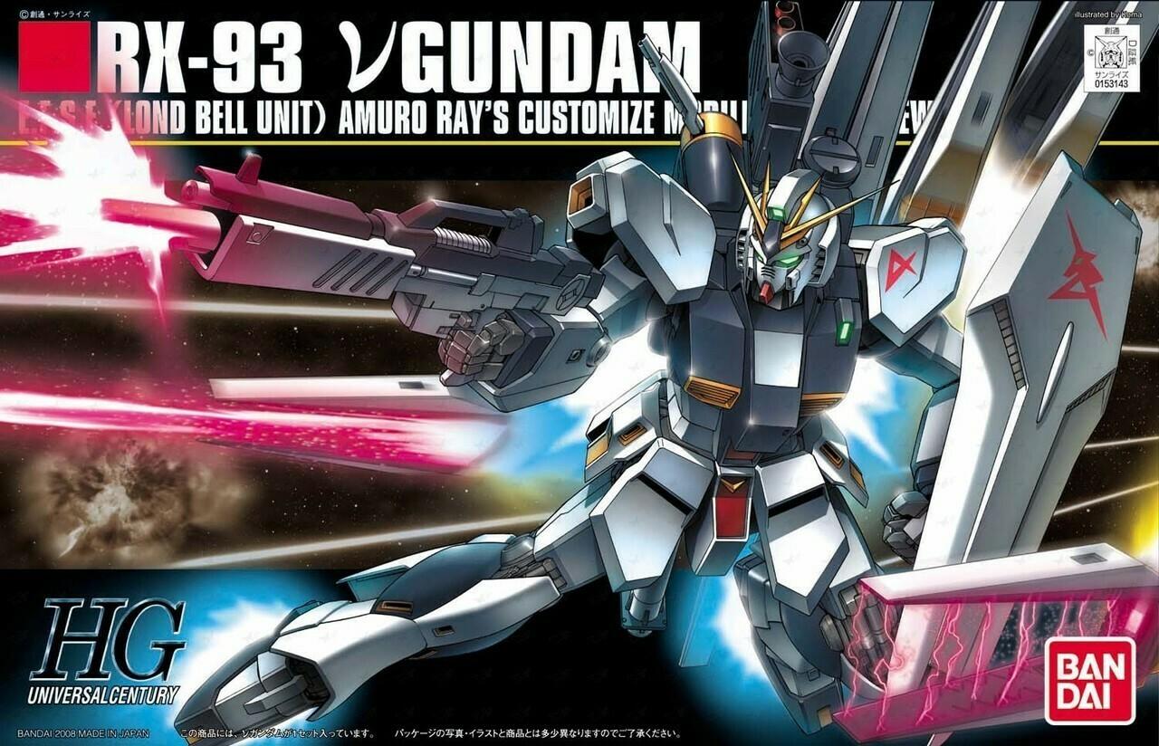 HG RX-93 Nu Gundam