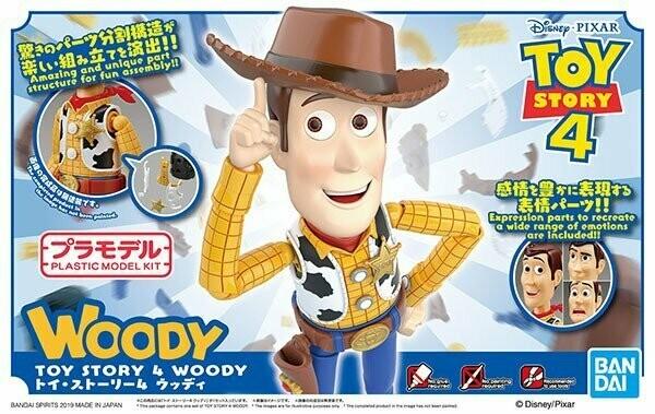 Toy Story Woody Model Kit