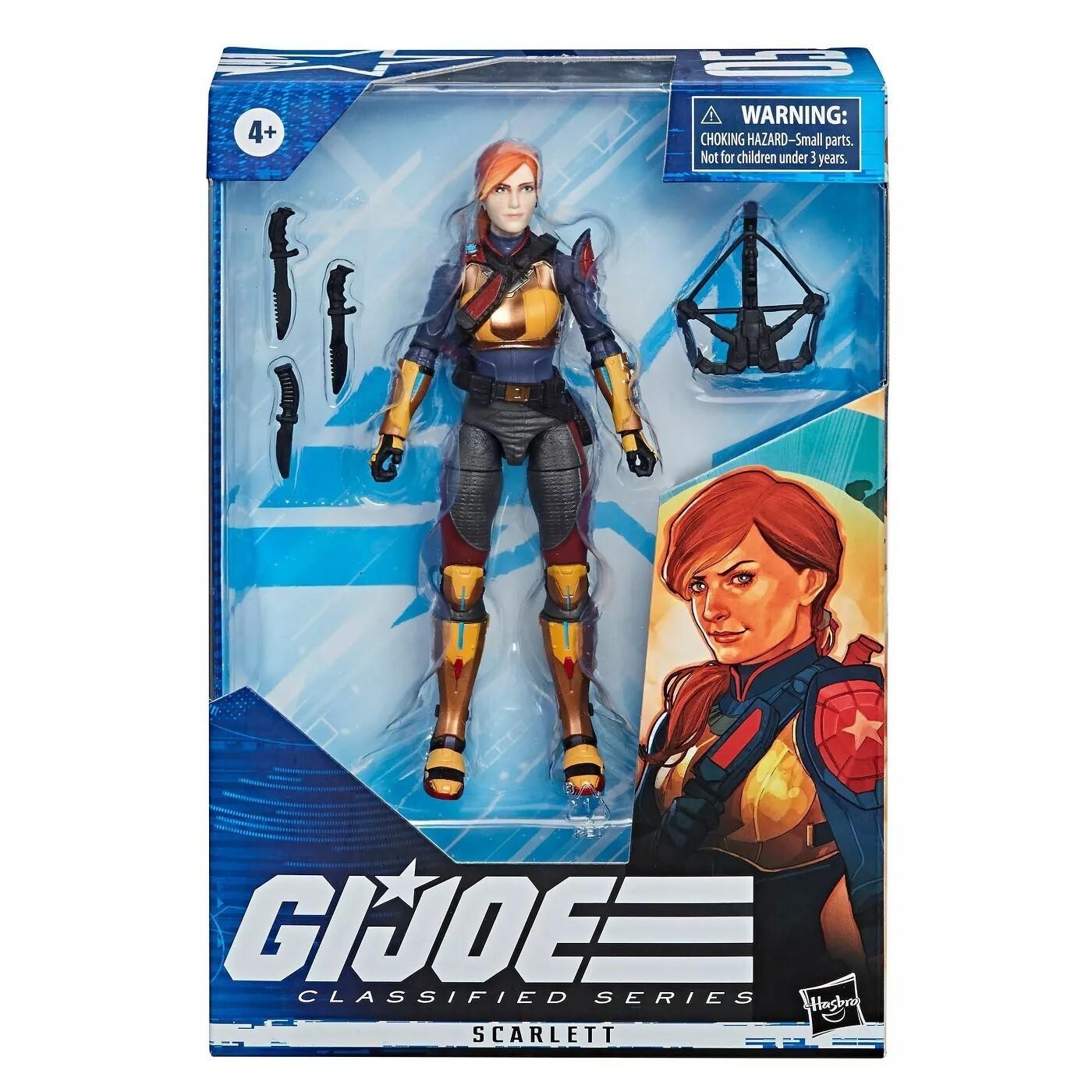G.I.Joe Classified Series Scarlett