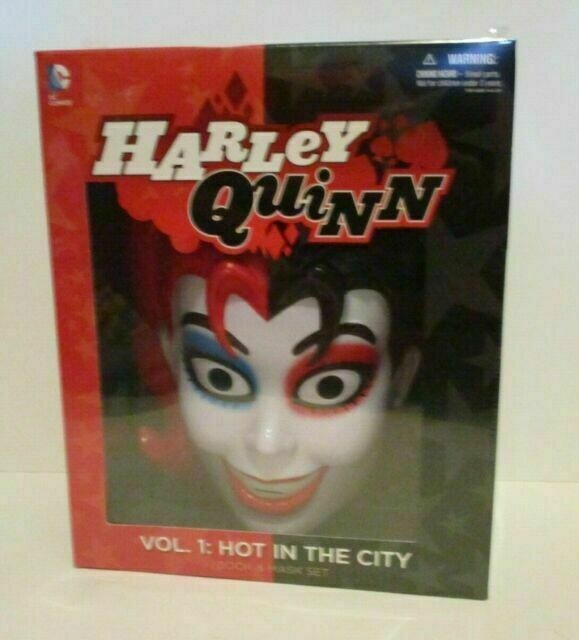 Harley Quinn Vol 1 Hot In The City Book And Mask Set