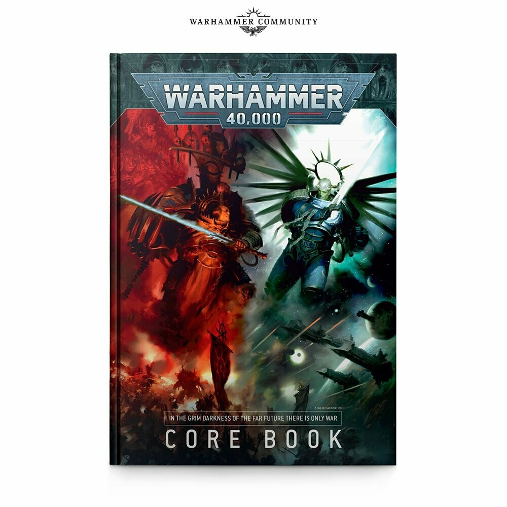 Warhammer 40,000 9th Edition Core Rulebook