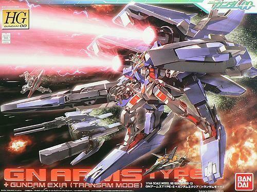 HG GN Arms Type-E + Gundam Exia (Transam Mode)