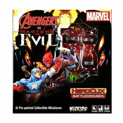 Heroclix Avengers vs Masters Of Evil