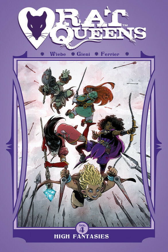 Rat Queens Vol.4: High Fantasies