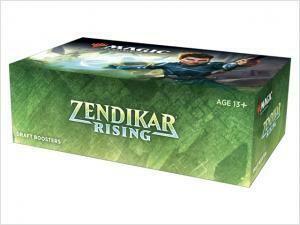 Zendikar Rising Draft Booster Display