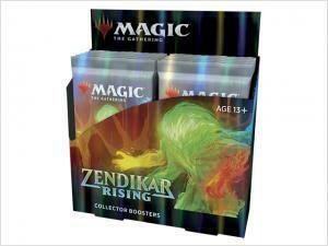 Zendikar Rising Collector Booster Display