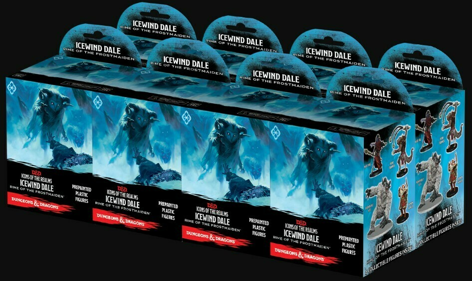 D&D Ice Wind Dale Rim Of The Frostmaiden - Brick Of 8 Sets 96008