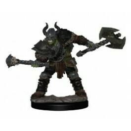 Premium Half-Orc Male Barbarian 77503