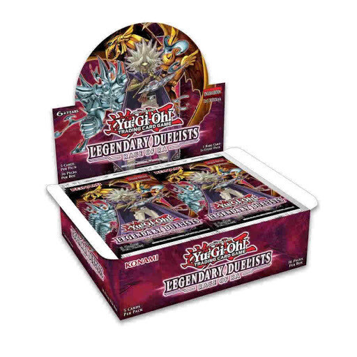 YGO Legendary Duelist Rage Of RA Booster Box