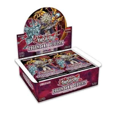 YGO Legendary Duelist Rage Of RA Booster Box
