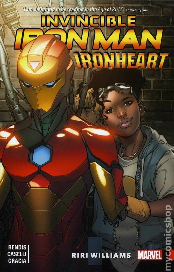 Invincible Ironman: Ironheart TPB