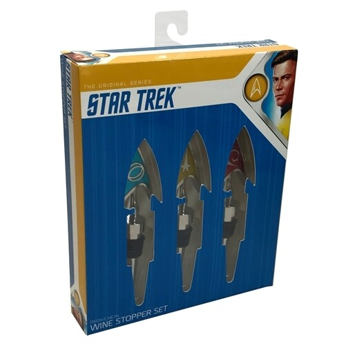 Star Trek: The Original Series Wine Stopper Set