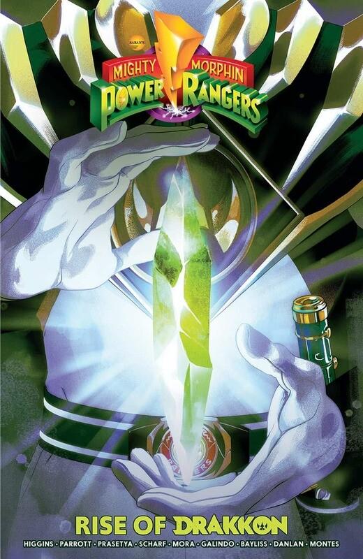 Mighty Mophin Power Rangers: Rise Of Drakkon TPB