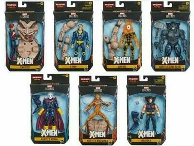 Marvel X-Men Legends Build-a-figure Age Of Apocalypse Lot