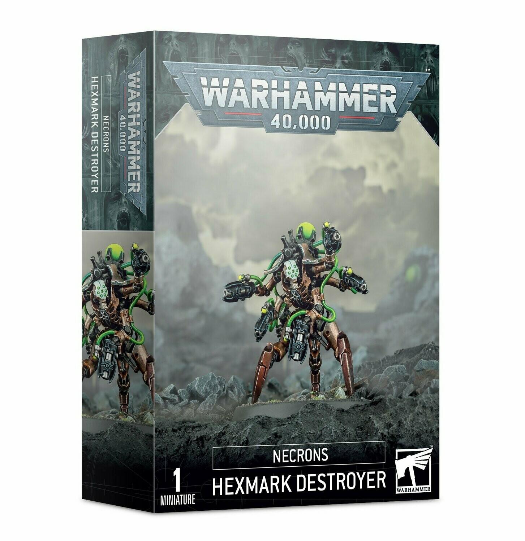 Necrons Hexmark Destroyer