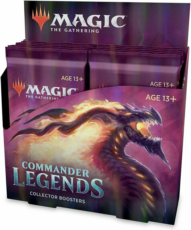 Commander Legends Collector Booster Display