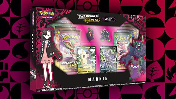 Pokemon Champion's Path: Marnie Premium Box