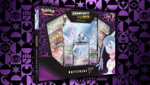 Pokemon Champion's Path: Hatterene V