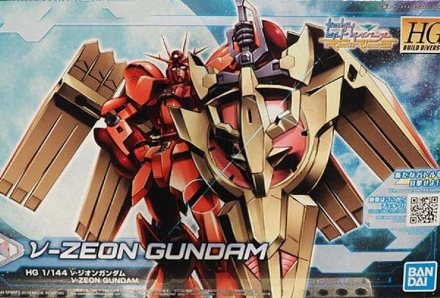HG 1/144 Nu-Zeon Gundam