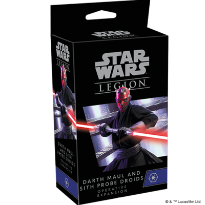 Darth Maul and Sith Probe Droids Operative Expansion (Star Wars: Legion)
