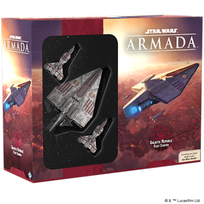 Star Wars: Armada Galactic Republic Fleet Starter