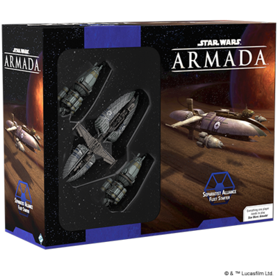Star Wars Armada: Separatist Alliance Fleet