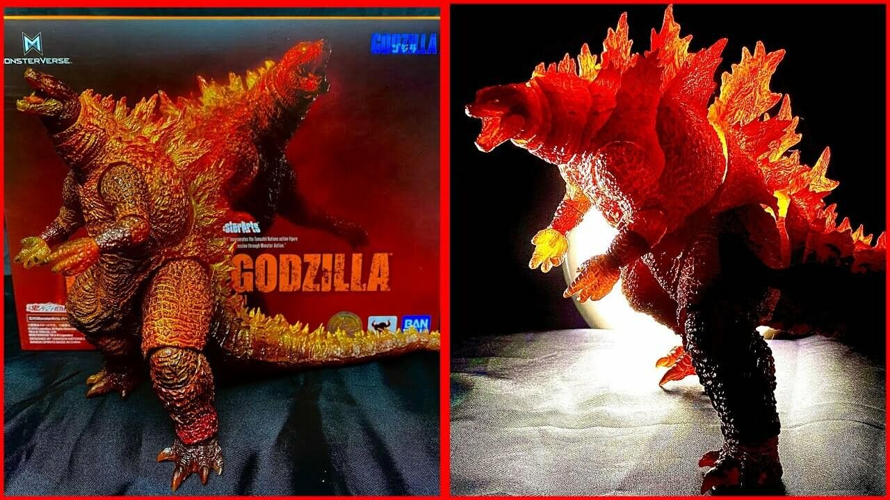 S.h. Monsterarts Burning Godzilla (2019)