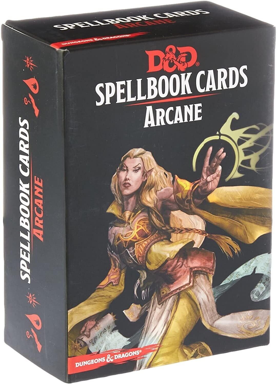 Arcane Spellbook Cards