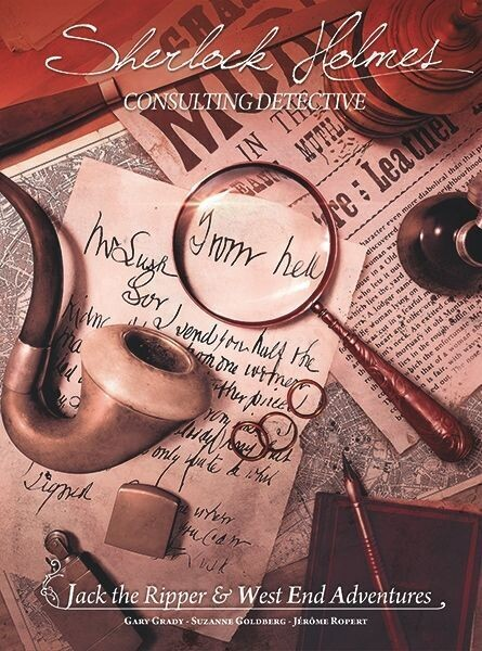 Sherlock Holmes Consulting Detective Jack The Ripper West End Adventures