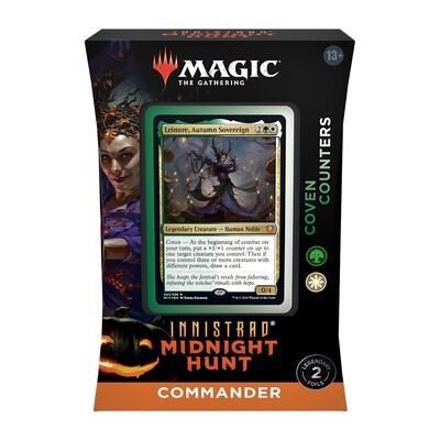 Innistrad Midnight Hunt Commander Decks