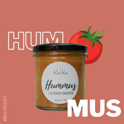 Hummus z suszonych pomidorów