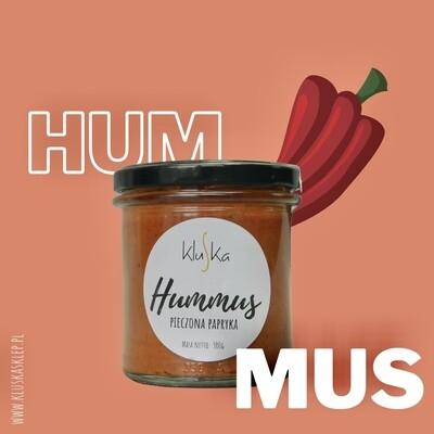 Hummus z pieczonej papryki