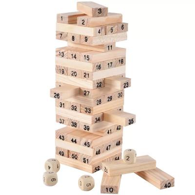Juego Jenga de madera