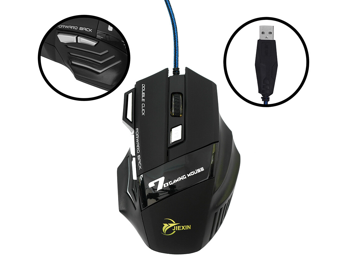 Mouse Gamer USB 3.0 - 4000dpi