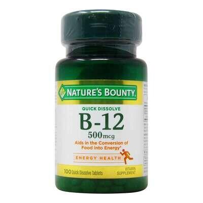 Nature's Bounty Vitamina B-12