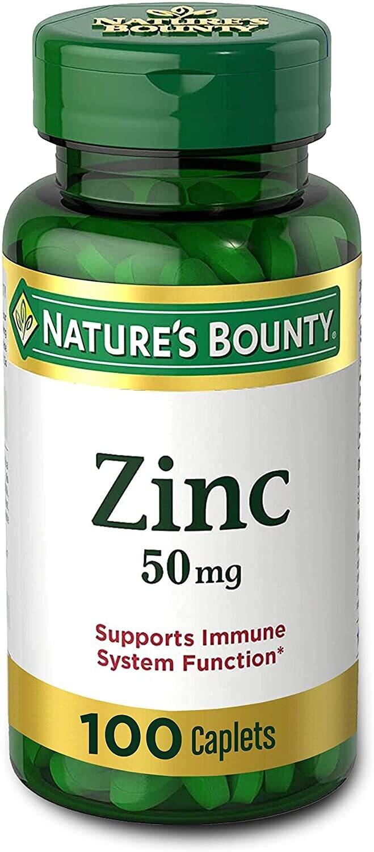 Vitamina Zinc Quelado 100 capsulas