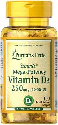 Cápsulas De Vitamina D3