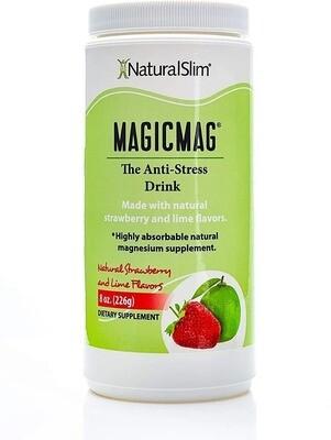 Bebida Antiestrés Polvo De Citrato De Magnesio Puro