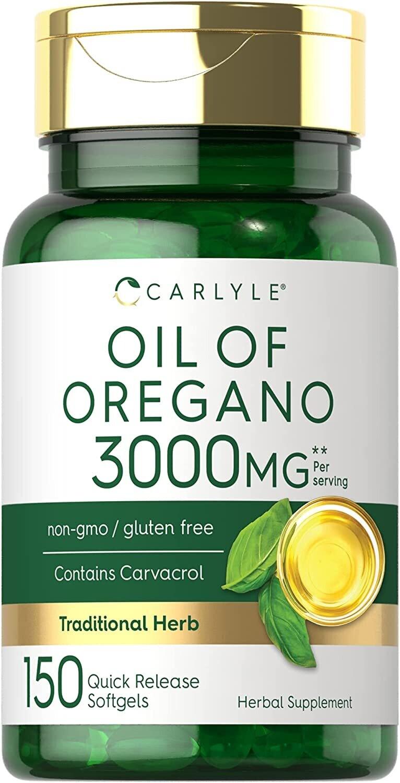 Aceite De Oregano 3000 Mg Carlyle Con Carvacrol - 150 Cap