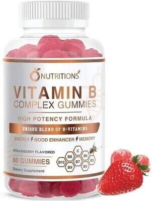 Vitamina B Complex Vegan Gummies Nutritions